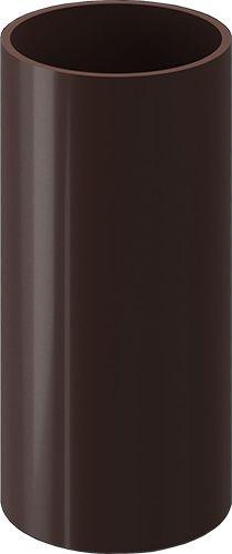 Труба водосточная, 3 м Docke PREMIUM, Шоколад