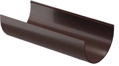 Желоб водосточный, 3 м Docke PREMIUM, Шоколад